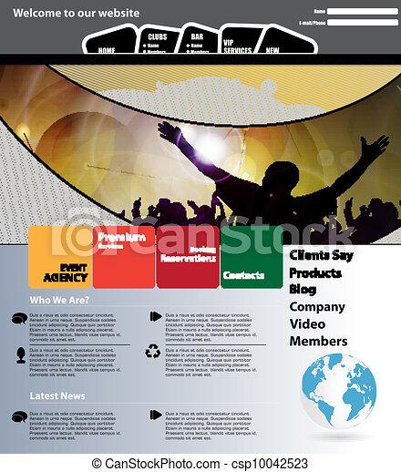 Web design template - csp10042523