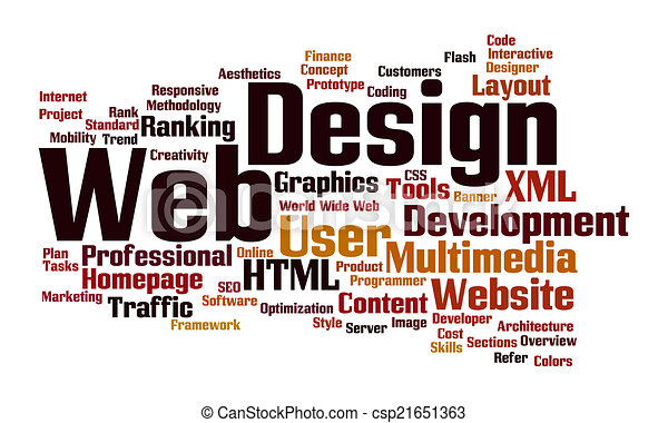 web design word cloud word cloud of the words associated with the