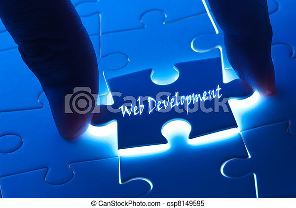 Web development on puzzle piece - csp8149595