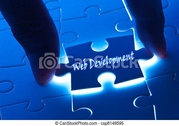 Web development on puzzle piece - csp8149595