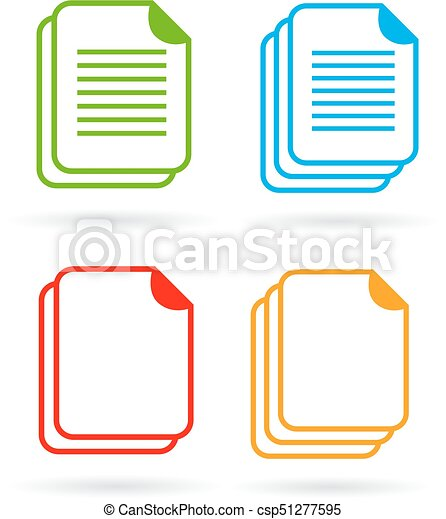 Web document vector icon - csp51277595
