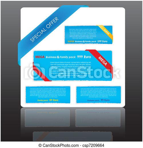 web elements collection - csp7209664