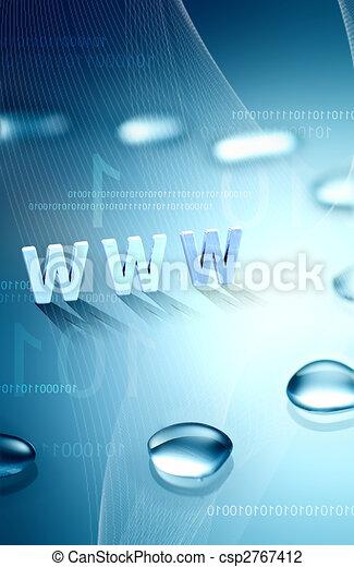 web, hintergrund - csp2767412