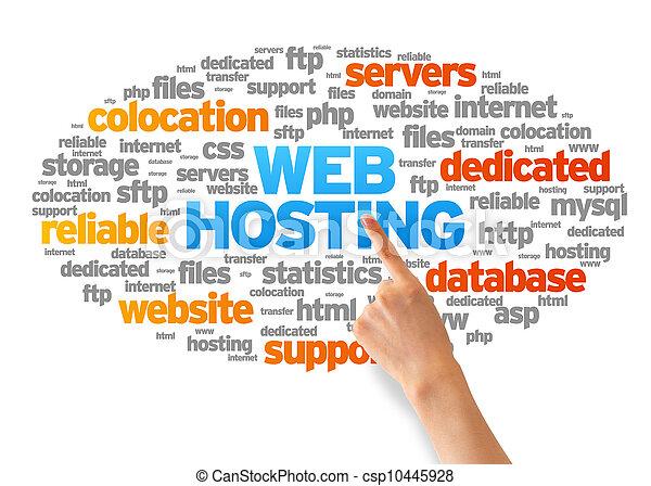 web, hosting - csp10445928