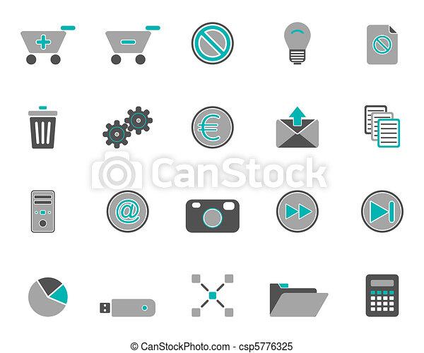 Web icons - csp5776325