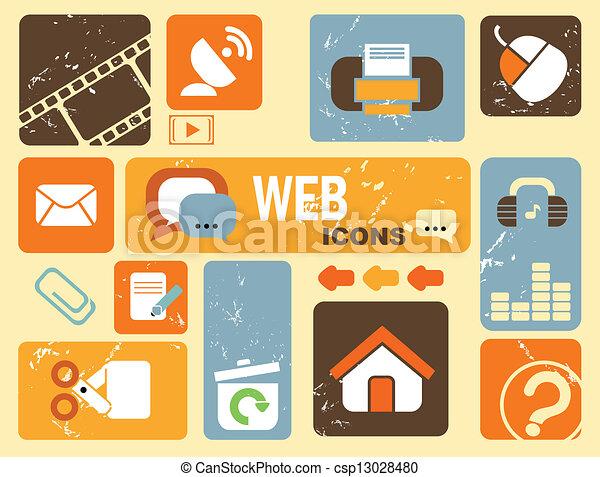web icons - csp13028480