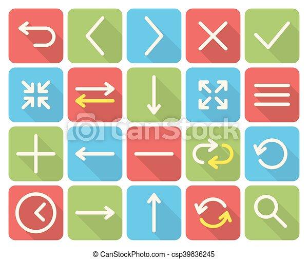 Web icons - csp39836245