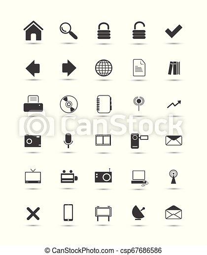 Web icons - csp67686586