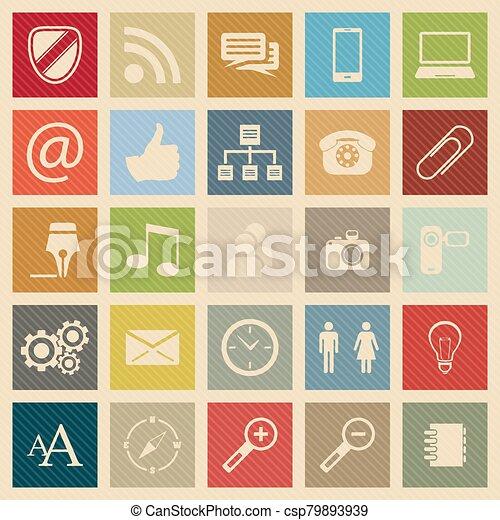 Web icons - csp79893939