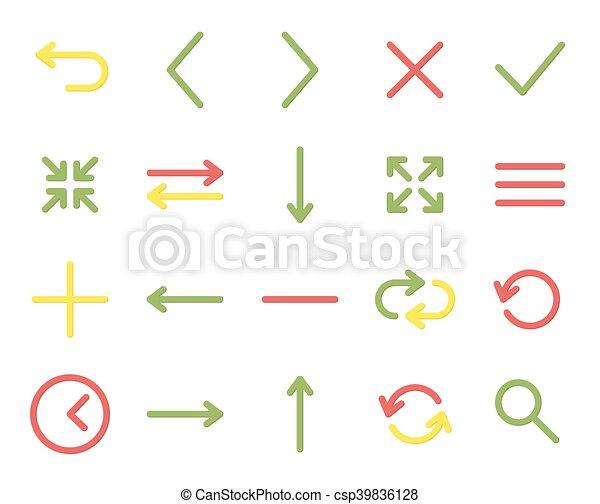 Web icons - csp39836128