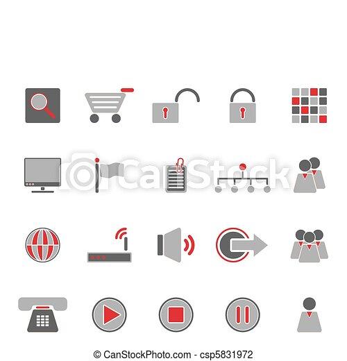 Web icons - csp5831972