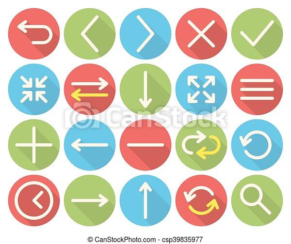 Web icons - csp39835977