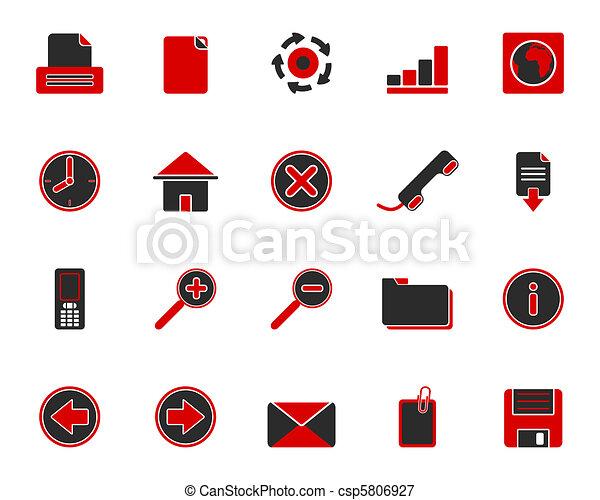 Web icons - csp5806927