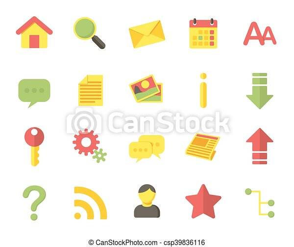 Web icons - csp39836116
