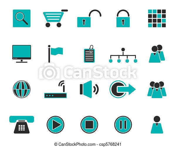 Web icons - csp5768241