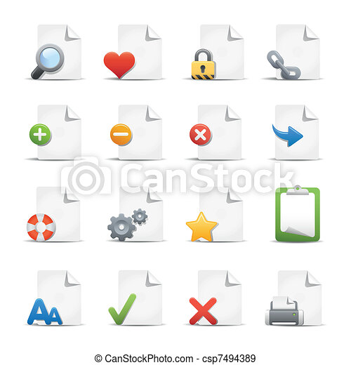 Web & Internet Icons - csp7494389