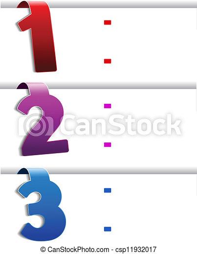 web navigation - offer template, set 1 - csp11932017