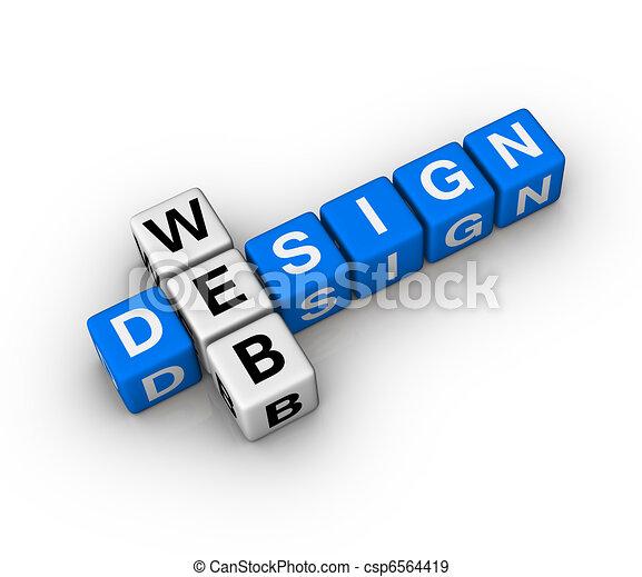 web ontwerp - csp6564419