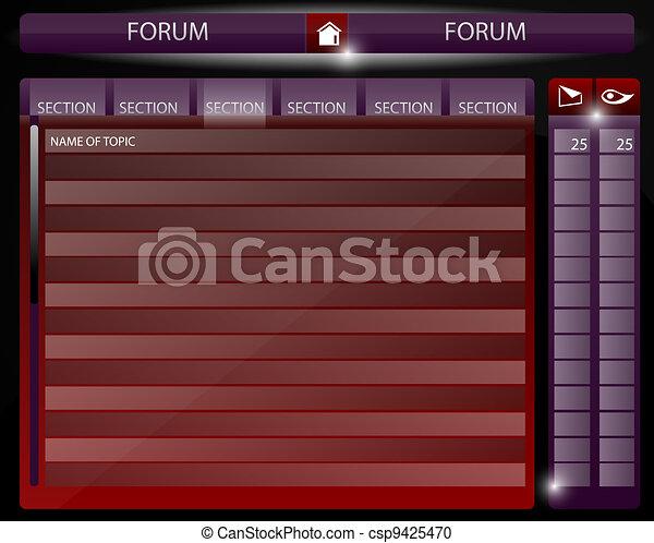 Web page design forum - csp9425470