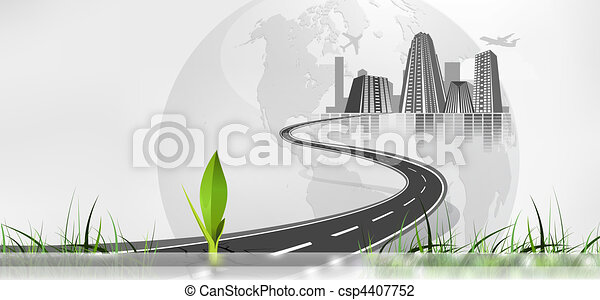 web page situated banner - csp4407752