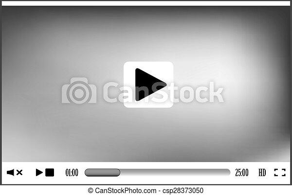 Web player interface - csp28373050