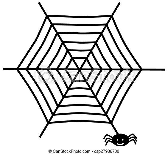 web, ragno - csp27936700