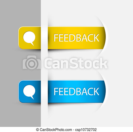 (web), realimentação, etiquetas, /, borda, adesivos, página - csp10732702