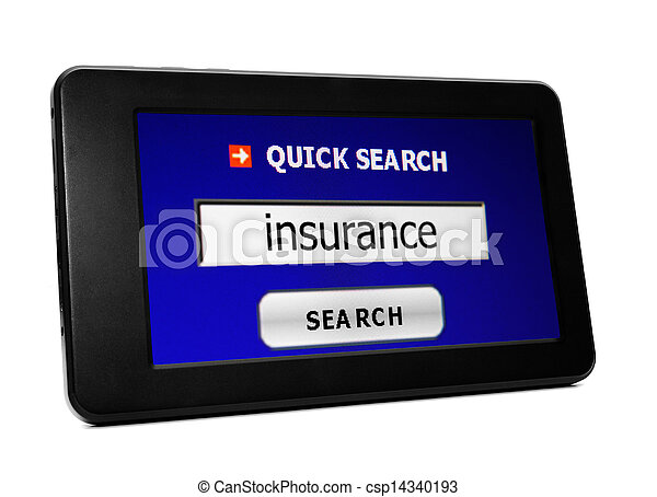 Web search for insurance - csp14340193
