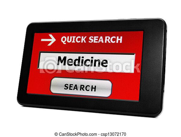 Web search for medicine - csp13072170