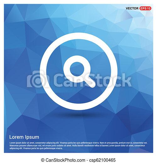 Web search icon - csp62100465