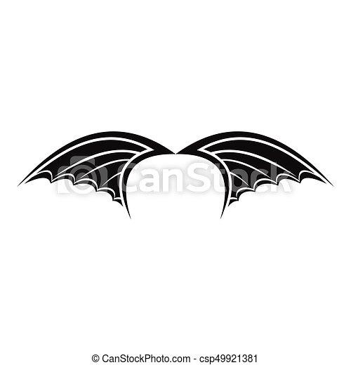 Web Silhouette Semplice Isolato Illustrazione Drago Vettore