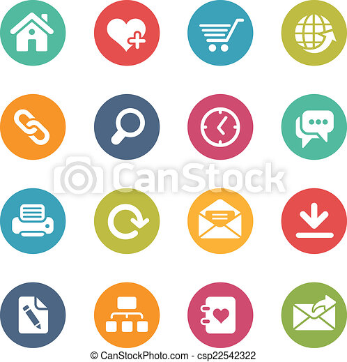 Web Site and Internet Icons - csp22542322