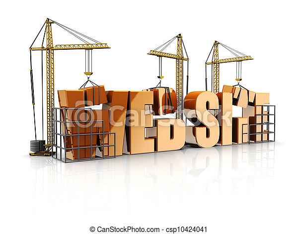 web site - csp10424041