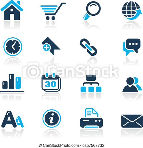 web site internet azure vector icons for your website or rh canstockphoto com clip art sight words clip art sights