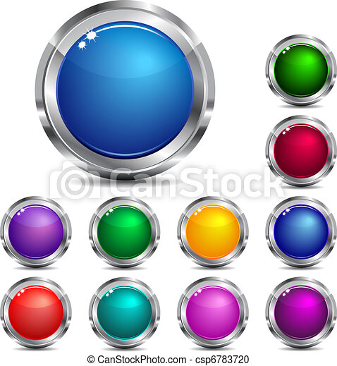 Web Site & Internet Icon Buttons - csp6783720