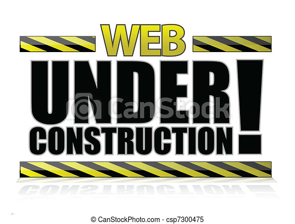 Web under construction - csp7300475