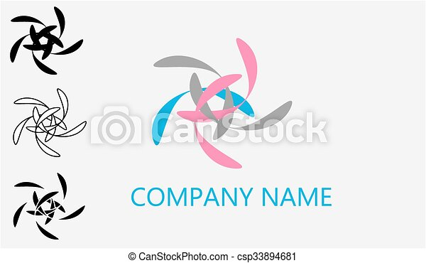 web, vectorii, logotipo - csp33894681