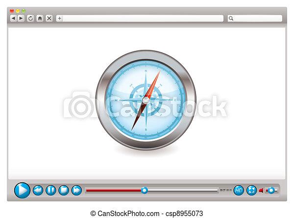Web video browser navigation - csp8955073