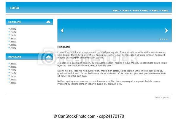 Web Website Design Element Template - csp24172170