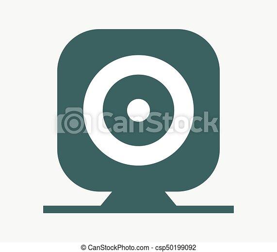 webcam icon - csp50199092