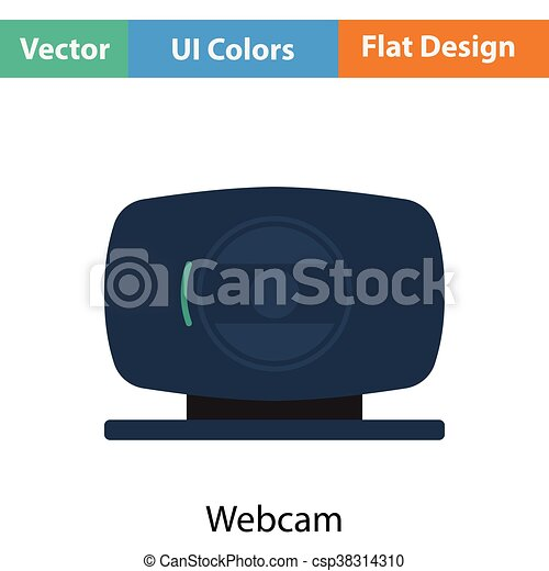 Webcam icon - csp38314310