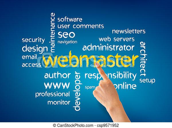 Webmaster - csp9571952