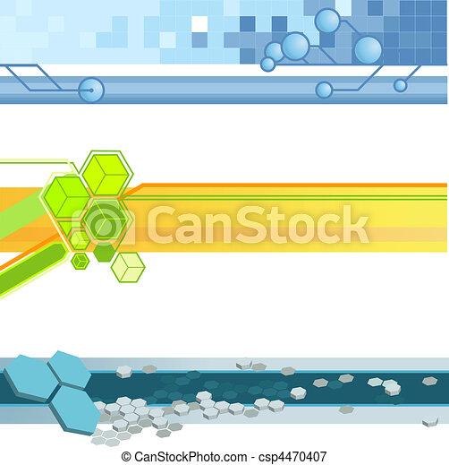 website banner backgrounds - csp4470407