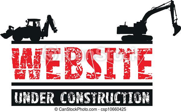 Website-Bau - csp10660425