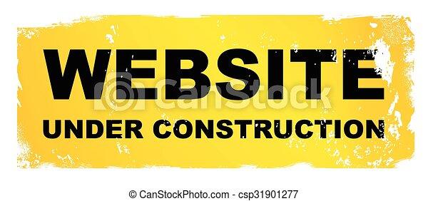 website, baugewerbe, unter - csp31901277
