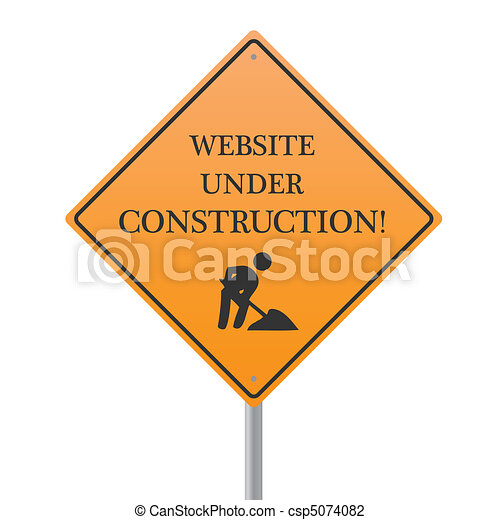website, baugewerbe, unter - csp5074082