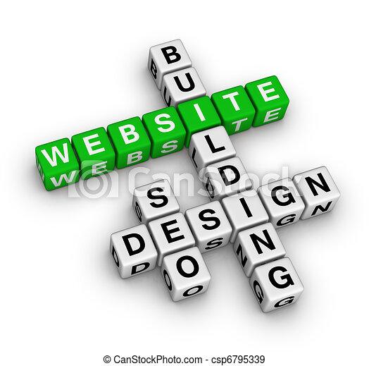 website building - csp6795339