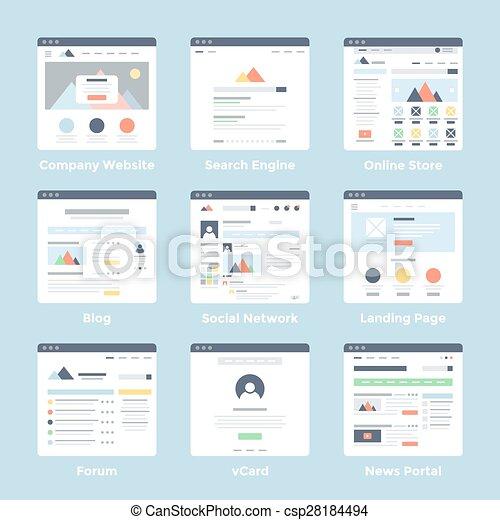 Charmant Beispiele Für Websiteschablonen Galerie ...