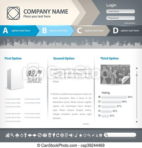 Website template - csp39244469
