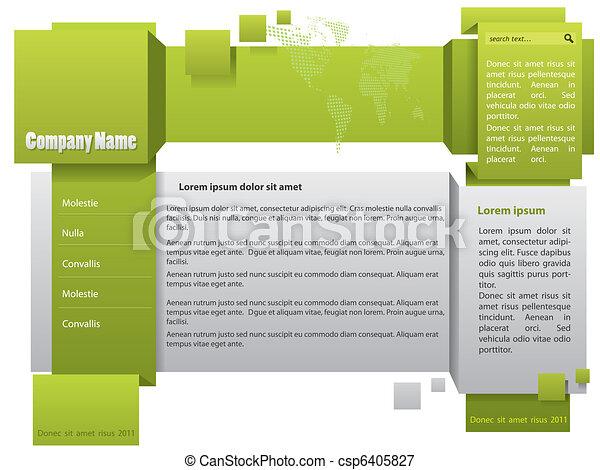 Website template - csp6405827